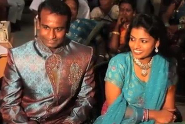 Satheesh Gabriel weds Ashwini Enigo