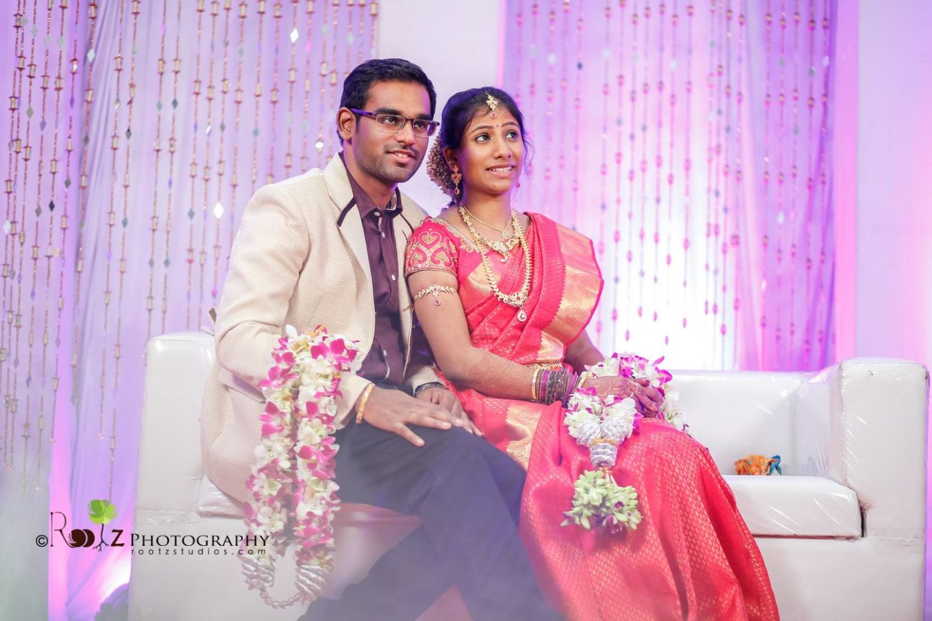 Wedding Reception Candid Photography in Pondicherry
