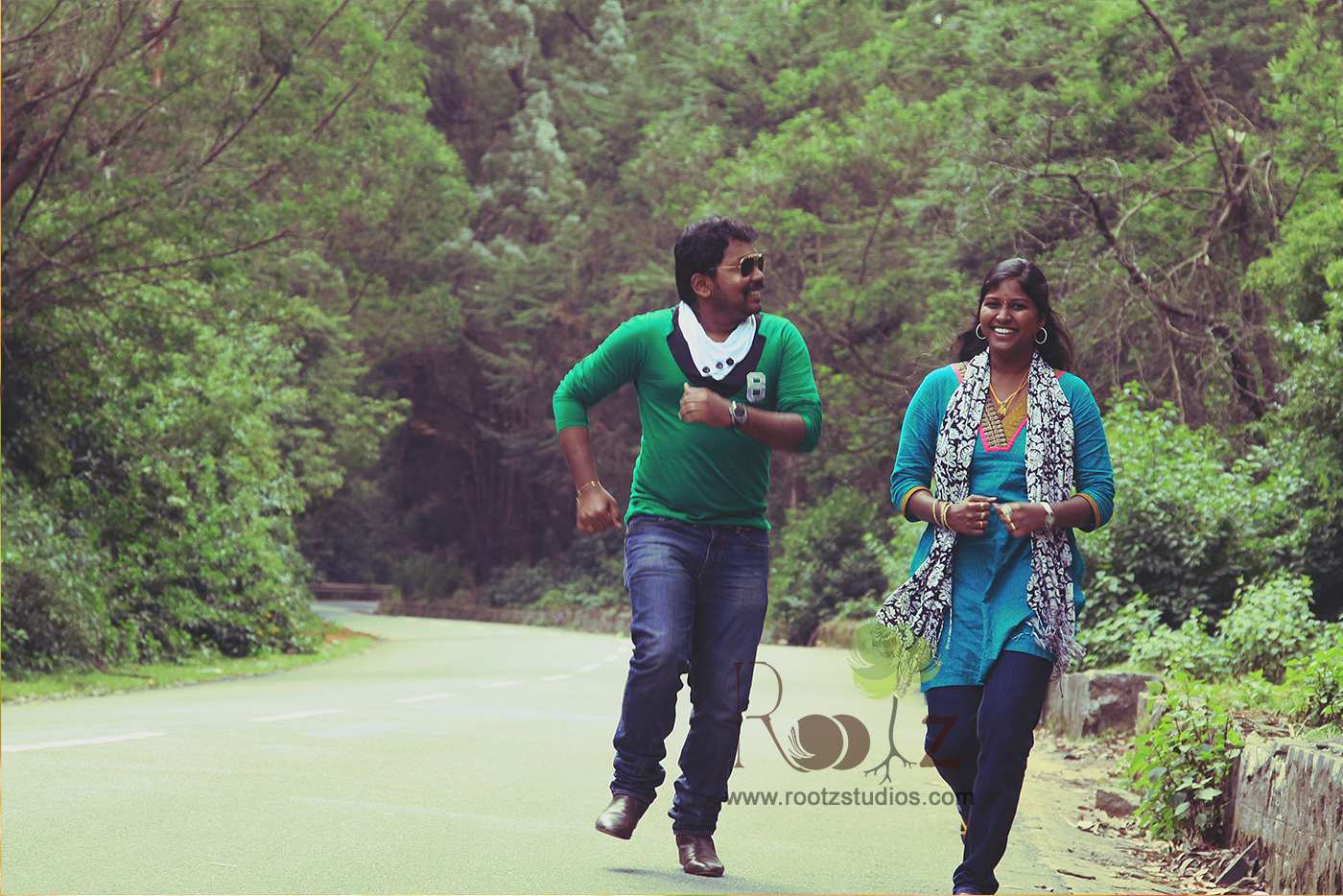 Wedding Outdoor Candid Photography 12